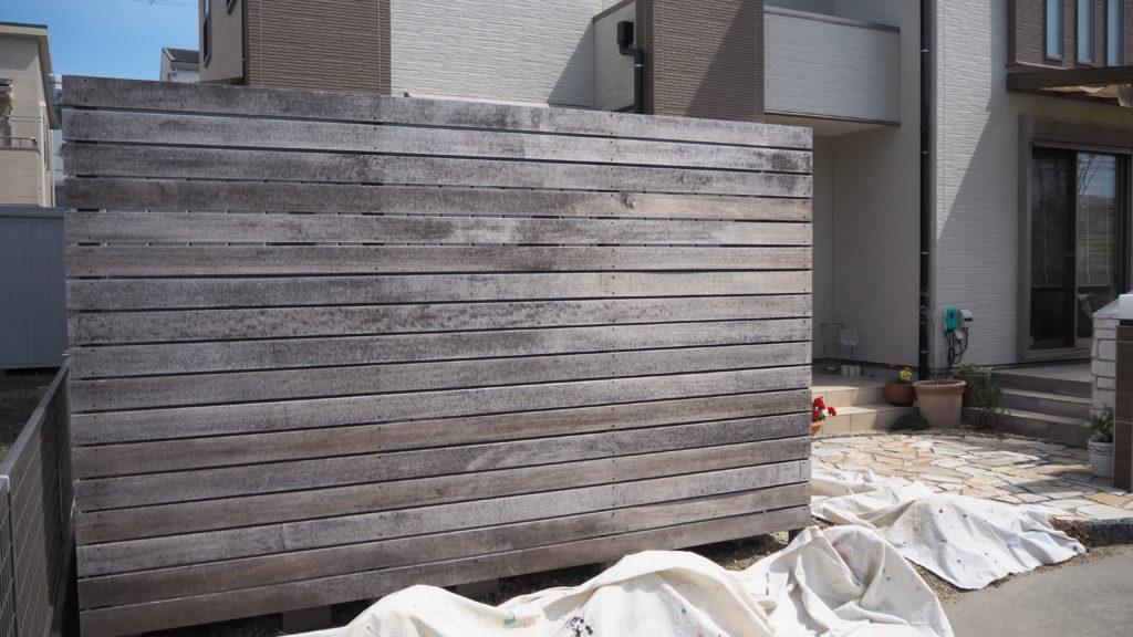 SOTOKARA 塗装施工前